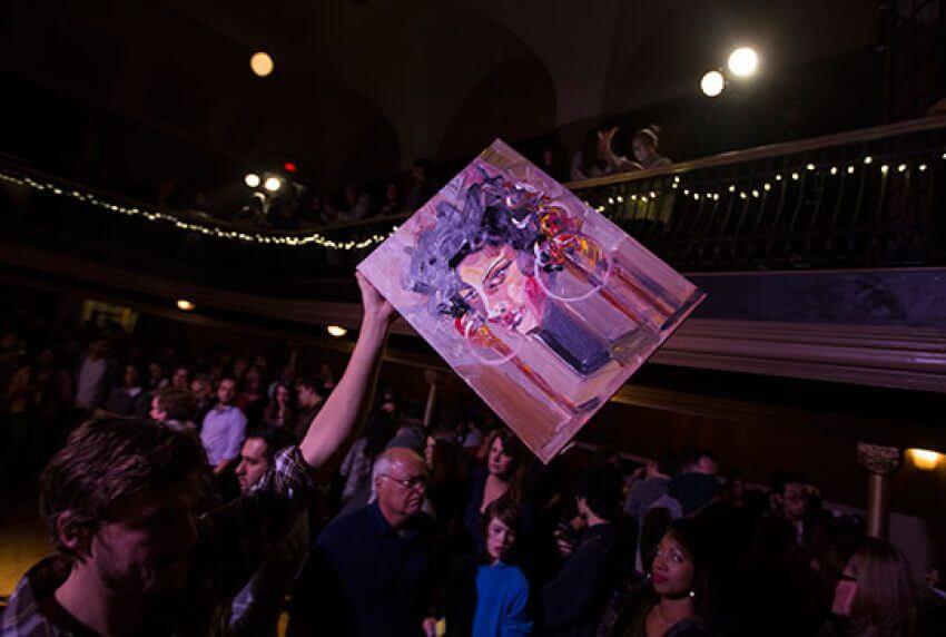 Art Battle Toronto Star The Great Hall